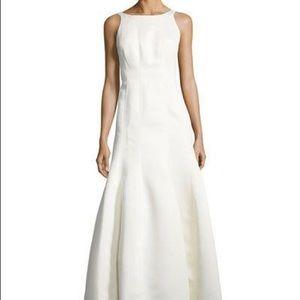 NWT Halston Heritage Eggshell Mermaid Gown